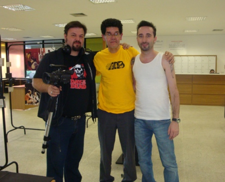 Cleiner, Ayrton e Luiz Teddy