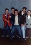 Eu, Daniel, Tony Campello, Jack e Deni