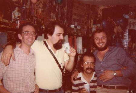 Eddy, Machado, Velho e Kojaque