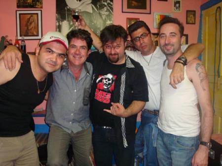Wagnão, Rick, Cleiner, Yeis e Luiz Teddy
