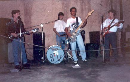 Luiz Teddy, Eric, Fleuri e Deni