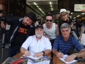 Cleiner, Foguinho, Luiz Teddy, Della Monica e Vebis
