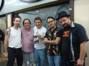 Luiz Teddy, Nenê Benvenuti, Mauricio C. Brito, Vebis e Cleiner