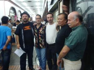 Cleiner, Vebis, Luiz Teddy, Helio e Tangerino