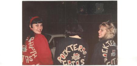 Lismara, Denise e Francine