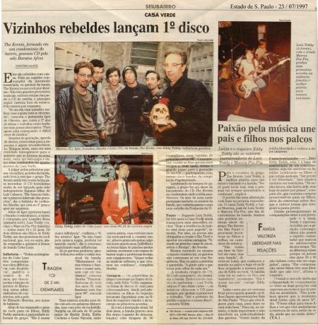 Estado de São Paulo 23/07/1997