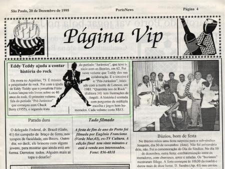 "JOrnal ""Porto News / 95"""