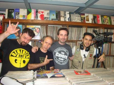 Cleiner, Luiz Calanca, Luiz Teddy e Vebis