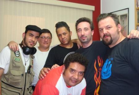 Vebis, Wagner, Eric, Luiz Teddy, Cleiner e Ivanio