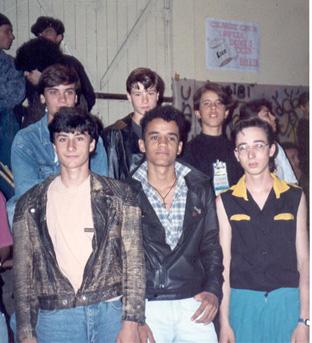 Eric, Deni, Alex, Marcio, Ratão, Fleury e eu.