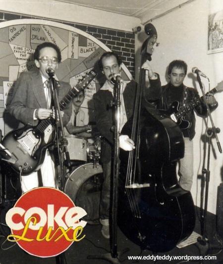 Coke Luxe - The fisrt Rockabilly band in Brasil